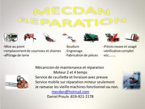 Mecdan Réparation moteur 2 et 4 temps