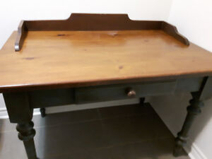 Original handmade Desk with chair or Kitchen Table