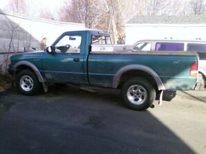 4x4 Ford Ranger 1997, pick-up, camion 4x4