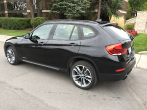 2015 BMW X1 Red Black SUV, Crossover