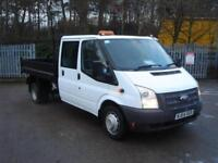 Ford Transit Double Cab Tipper- Tdci 100Ps [Drw] Euro 5 DIESEL MANUAL (2014)
