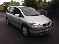 2005 Vauxhall Zafira 2.0 DTI -7 seater - one owner