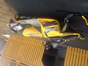 Parting out 2005 mxz 800 ren ski-doo -709-597-5150