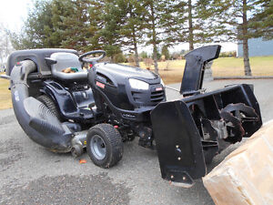 Craftsman Lawn tractor with Snowblower attachment