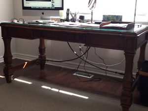 Cherry wood desk