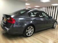 BMW 320 2.0TD DIESEL M SPORT GREY WARRANTY 12 MONTHS MOT SERVICE HISTORY