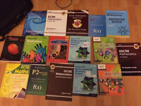 Maths exercise and revision books