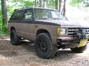 1984 chev blazer (PROJECT)