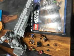 Star Wars Lego 7961 Darth Maul's Sith Infiltrator.  Retired Set