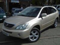 2005 55 LEXUS RX 3.3 400H SE CVT 5D AUTO 208 BHP