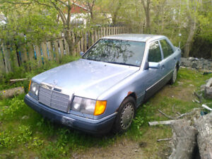 1991 Mercedes 300e. Runs, need gone, may trade for something