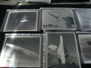 Collection de 34 photos militaire 1958-1959 de US Air Force