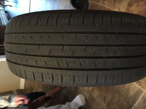 FOUR KUMHO ALL SEARSON TIRES
