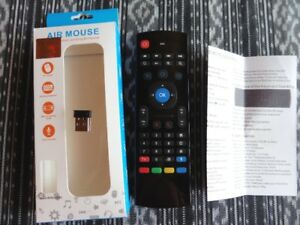Air Mouse 2.4G Wireless with keyboard (For use with TV Box)