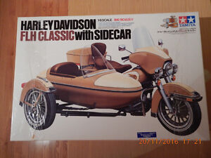 TAMIYA 1/6th Scale Harley Davidson FLH CLASSIC Sidecar model West Island Greater Montréal image 1