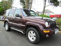 JEEP CHEROKEE 2.5TD 4X4 LIMITED COMPLETE WITH M.O.T HPI CLEAR INC WARRANTY