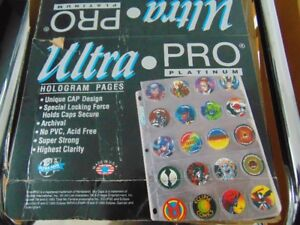 Feuilles protectrices pour POGS Ultra Pro