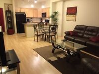Fully Furnished One Bedroom Executive Suite w/underground park
