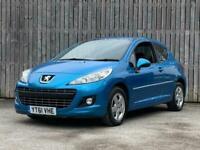 2011 Peugeot 207 1.4 HDi Sportium 3dr Hatchback Diesel Manual