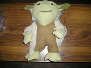 "STAR WARS 16"" TALKING YODA"