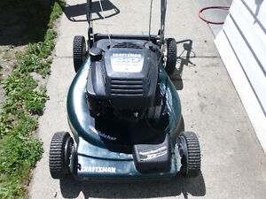 Craftsman Self Propelled Totally Serviced 6hp,