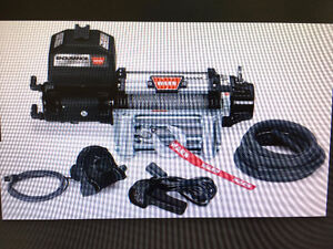 Warn Winch 12.0 endurance NEW IN BOX with mount