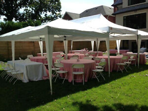 Tents Chairs Tables Speakers Food wares for rent!! Oakville / Halton Region Toronto (GTA) image 1