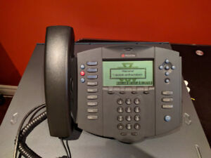 Polycom SoundPoint IP 501 SIP with PoE LAN power cable