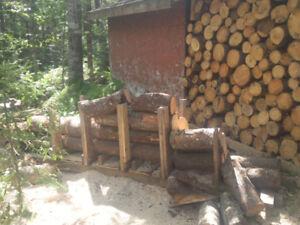 Firewood delivered for the cash flow !