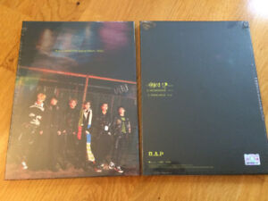 (kpop) B.A.P Ego Makestar Limited Edition album (brand new)