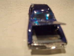 Loose Hot Wheels Blue  '69 Dodge Charger from 10 pack 1/64 Sarnia Sarnia Area image 4