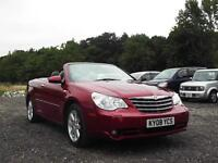 2008 CHRYSLER SEBRING 2.7 CABRIO V6 AUTOMATIC LIMITED CONVERTIBLE PX SWAP SWOP