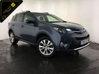2014 TOYOTA RAV4 INVINCIBLE D-4D DIESEL 1 OWNER SERVICE HISTORY FINANCE PX