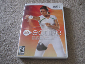 Wii-Active Personal Trainer-EA Sports-Excellent condition