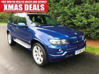 2006 BMW X5 3.0d LE MANS BLUE SPORT EDITION AUTOMATIC 4X4 TURBO DIESEL
