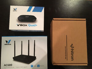 Modem+Wireless Router+Media Box