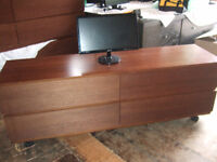 TV STAND WITH 4 DRAWER'S $65