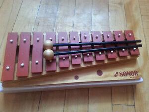 Xylophone/Carillon soprano / Marque Glockenspiel - Bois et acier