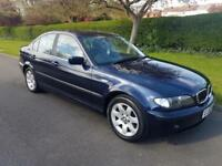 BMW 3 SERIES 320i (2.2) SE - 4 DOOR - AUTOMATIC - BLUE ** LOW MILES **