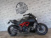 Ducati Diavel Carbon Red -Ohlins Shock Termi System FDSH-