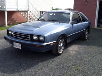Mercury Capri GS 1986 Original
