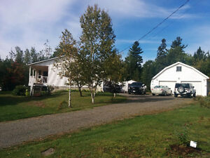 Quiet, country home in Gagetown for sale.