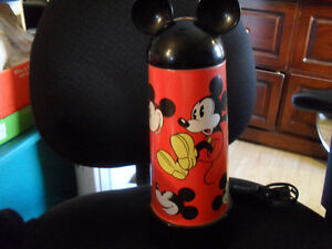 VINTAGE MICKEY MOUSE TOUCH LAMP