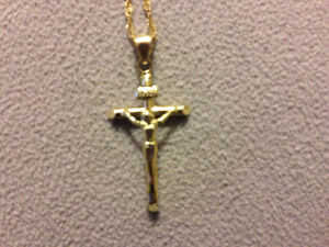 Nice chain and crucifix