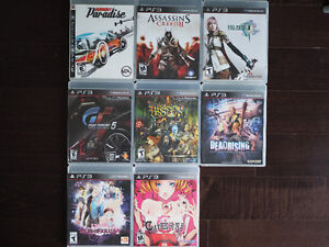 PS3 Games - GT5, Tales of Xillia 2, Catherine and more