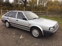 NISSAN BLUEBIRD 1.6 HATCH 1988 ONLY DONE 43k. LOOKS AND DRIVES LIKE NEW CLASSIC BARN FIND..