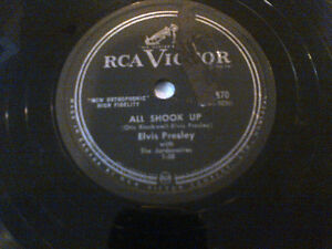 ELVIS PRESLEY LOST RECORDS DJ CLEAROUT RCA 78RPM  ALL SHOOK UP