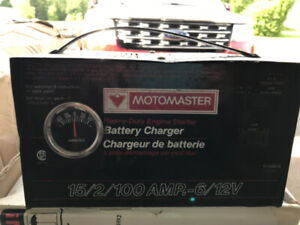 100 AMP BOOST 6 /12 VOLT BATTERY CHARGER