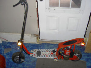 GS Moon gas powered scooter for parts