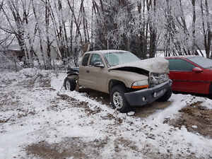 2003 Dodge Dakota Slt 4x4 parts Pickup Truck